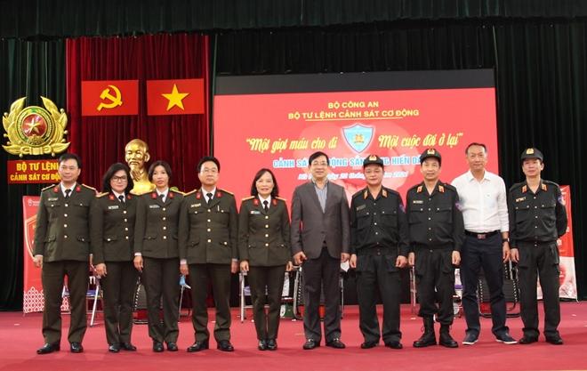 Tư lệnh Cảnh sát cơ động hiến máu và phát động CBCS tham gia - Ảnh minh hoạ 2