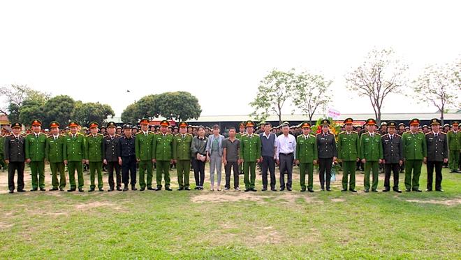 Trung đoàn CSCĐ Thủ đô khai giảng khóa huấn luyện cho gần 700 tân binh