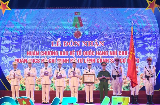 Tuổi trẻ Cảnh sát cơ động đón nhận Huân chương Bảo vệ Tổ quốc hạng Nhì - Ảnh minh hoạ 3