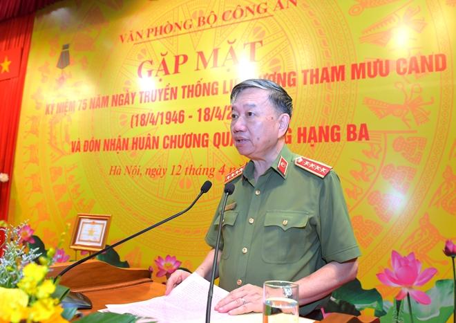 Văn phòng Bộ Công an vinh dự đón nhận Huân chương Quân công hạng Ba
