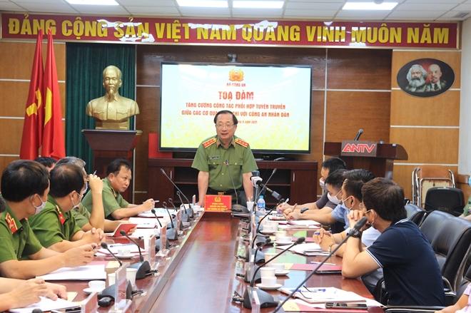 Tăng cường phối hợp tuyên truyền giữa các cơ quan báo chí với lực lượng CAND