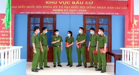 CSCĐ huấn luyện, thực binh hàng trăm phương án bảo vệ bầu cử