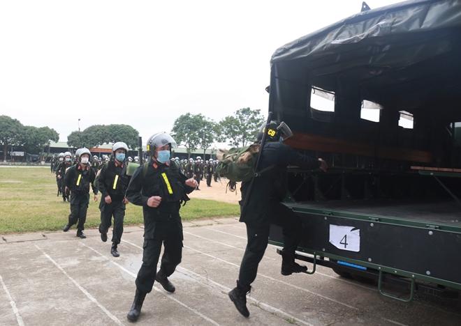 Bộ Tư lệnh Cảnh sát cơ động tăng cường 256 CBCS hỗ trợ Bắc Giang chống dịch - Ảnh minh hoạ 5