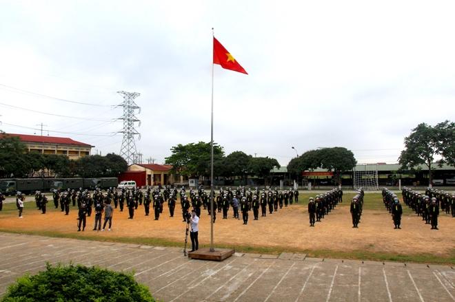 Bộ Tư lệnh Cảnh sát cơ động tăng cường 256 CBCS hỗ trợ Bắc Giang chống dịch - Ảnh minh hoạ 3
