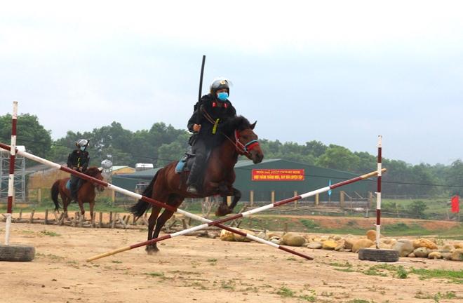 Lực lượng kỵ binh, chó nghiệp vụ sẵn sàng các phương án bảo vệ bầu cử - Ảnh minh hoạ 5