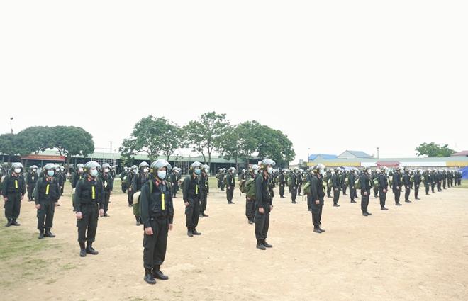Bộ Tư lệnh Cảnh sát cơ động tăng cường 256 CBCS hỗ trợ Bắc Giang chống dịch - Ảnh minh hoạ 2