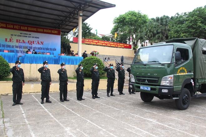 Bộ Tư lệnh Cảnh sát cơ động tăng cường 256 CBCS hỗ trợ Bắc Giang chống dịch - Ảnh minh hoạ 6