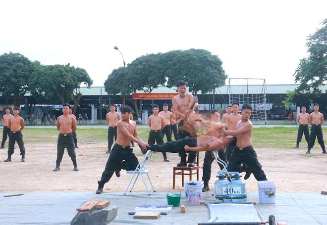 Trung đoàn CSCĐ Thủ đô thực binh phương án bảo vệ bầu cử - Ảnh minh hoạ 6