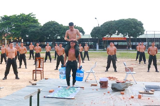 Trung đoàn CSCĐ Thủ đô thực binh phương án bảo vệ bầu cử - Ảnh minh hoạ 7
