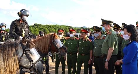 Nghiên cứu phương án CSCĐ Kỵ binh tuần tra kiểm soát bảo đảm ANTT