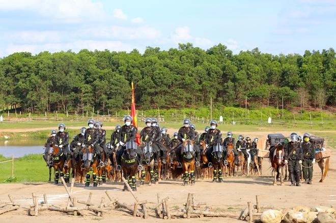 Nghiên cứu phương án CSCĐ Kỵ binh tuần tra kiểm soát bảo đảm ANTT - Ảnh minh hoạ 6