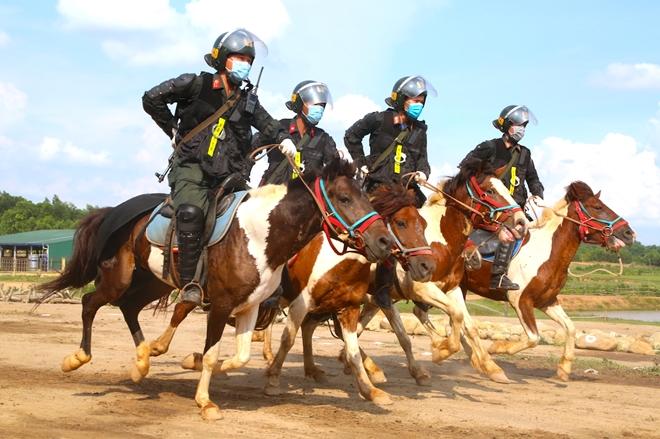 Nghiên cứu phương án CSCĐ Kỵ binh tuần tra kiểm soát bảo đảm ANTT - Ảnh minh hoạ 4