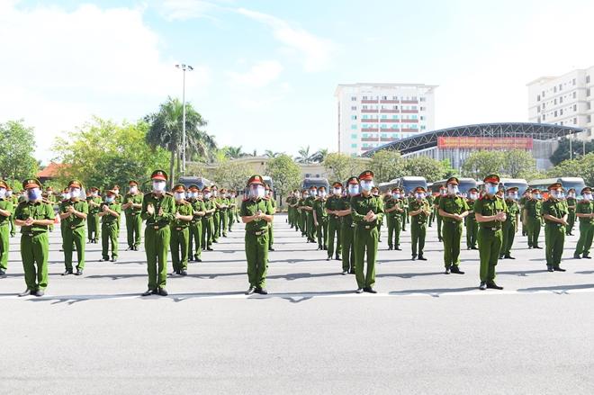 100 CSCĐ và 300 học viên CS lên đường chi viện cho Bắc Ninh - Ảnh minh hoạ 5