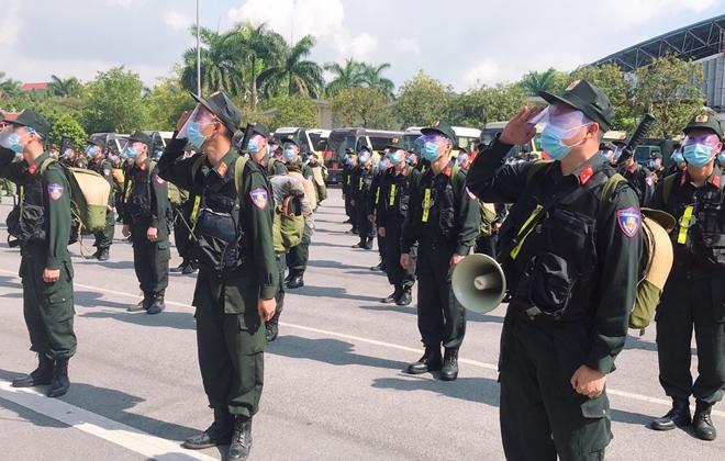 100 CSCĐ và 300 học viên CS lên đường chi viện cho Bắc Ninh - Ảnh minh hoạ 2