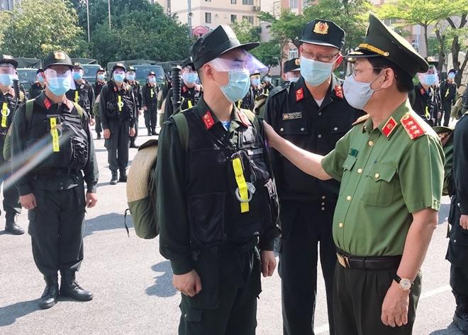 100 CSCĐ và 300 học viên CS lên đường chi viện cho Bắc Ninh - Ảnh minh hoạ 7