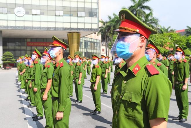 100 CSCĐ và 300 học viên CS lên đường chi viện cho Bắc Ninh - Ảnh minh hoạ 6