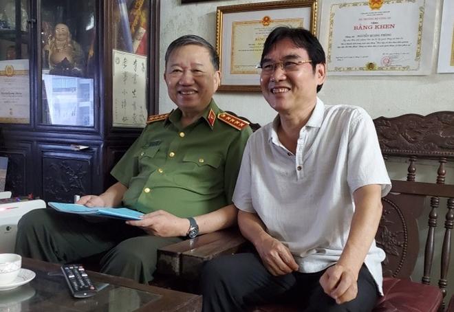 Bộ trưởng Tô Lâm thăm hỏi các đồng chí nguyên lãnh đạo Tổng cục An ninh - Ảnh minh hoạ 2