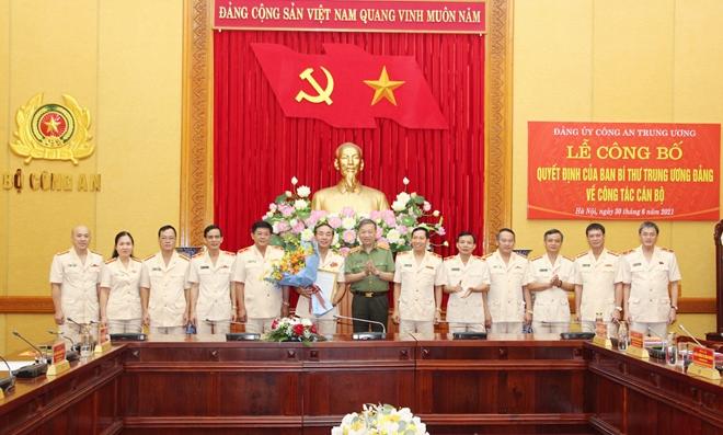 Công bố quyết định chuẩn y UBKT Đảng ủy Công an Trung ương - Ảnh minh hoạ 2