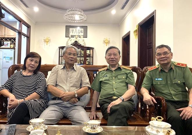 Bộ trưởng Tô Lâm thăm hỏi các đồng chí nguyên lãnh đạo Tổng cục An ninh - Ảnh minh hoạ 3