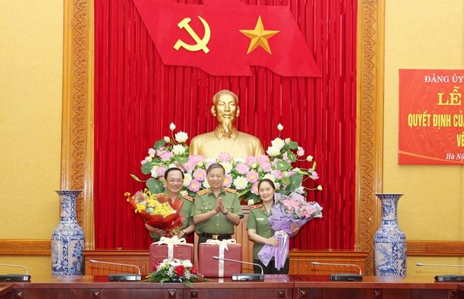 Công bố quyết định chuẩn y UBKT Đảng ủy Công an Trung ương - Ảnh minh hoạ 3