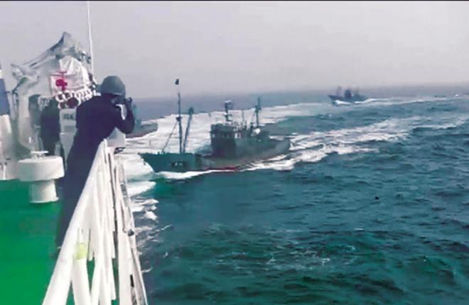 Nguy cơ đụng độ trên biển giữa Hàn Quốc, Nhật Bản và Trung Quốc