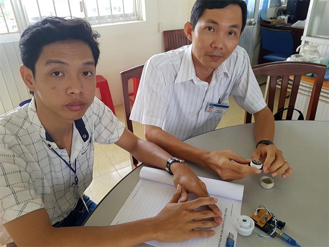 Cần Thơ: Độc đáo thiết bị chống đuối nước của hai sinh viên