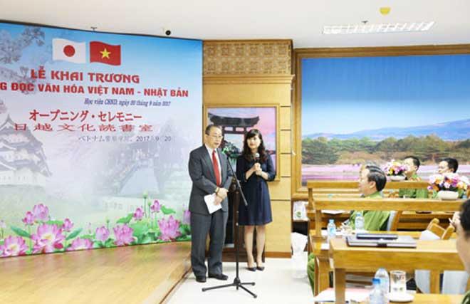 Khai trương phòng đọc văn hóa Việt Nam - Nhật Bản - Ảnh minh hoạ 3