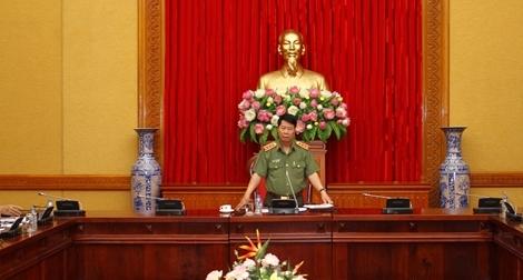 Thứ trưởng Bùi Văn Nam làm việc với Tiểu ban an ninh, trật tự APEC 2017