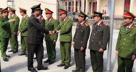 Đoàn công tác liên ngành Bộ Công an, Bộ Y tế, Bộ Lao động thương binh- xã hội làm việc tại tỉnh Sơn La