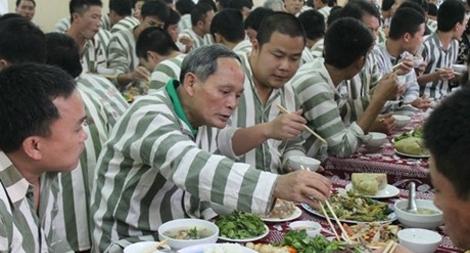 Định mức ăn của người bị tạm giữ, tạm giam