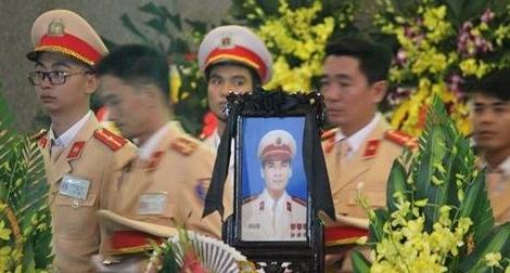 Vĩnh biệt Trung tá Trần Văn Vang: Máu anh đổ vì bình yên cuộc sống25