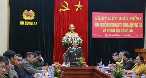Gặp mặt đoàn đại biểu người có uy tín trong dân tộc thiểu số tỉnh Bà Rịa- Vũng Tàu