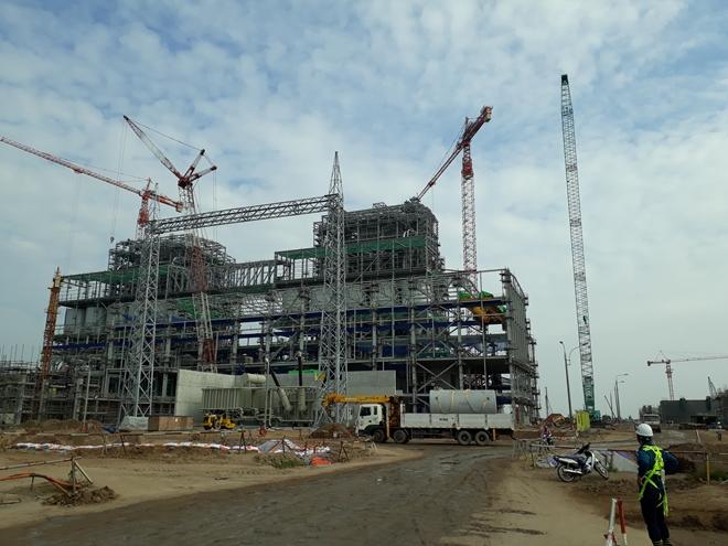 Vì sao dự án Nhiệt điện Sông Hậu 1 chậm tiến độ?