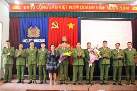 Khen thưởng Công an quận Hồng Bàng liên tiếp phá nhiều chuyên án