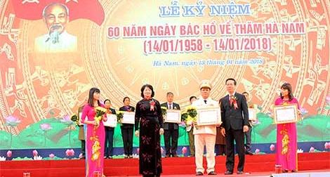 Kỷ niệm 60 năm Bác Hồ về thăm tỉnh Hà Nam