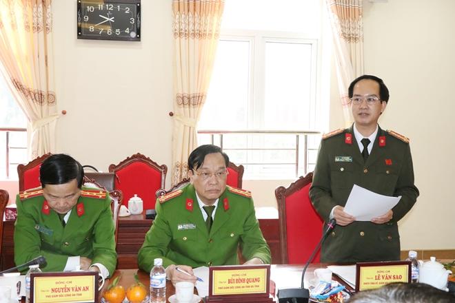 Thứ trưởng Bùi Văn Nam kiểm tra công tác tại Công an Hà Tĩnh - Ảnh minh hoạ 2