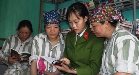 Tâm sự chuyện nghề của nữ quản giáo có tài cảm hóa phạm nhân