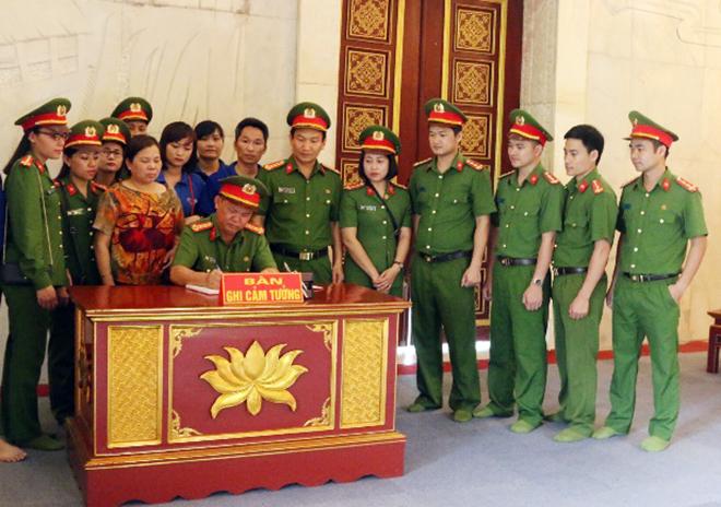 Trường Trung cấp Cảnh sát vũ trang về nguồn tại tỉnh Cao Bằng