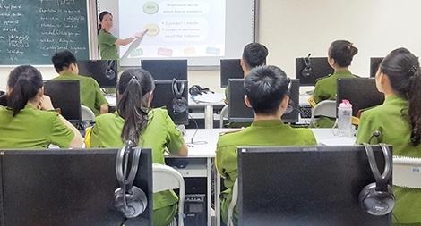 Xây dựng Học viện thành Trung tâm đào tạo Cảnh sát của quốc gia và khu vực