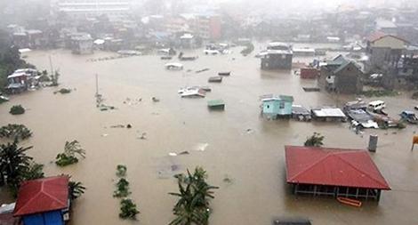 Chung tay ủng hộ bà con vùng lũ bị thiệt hại nặng nề bởi cơn bão số 3