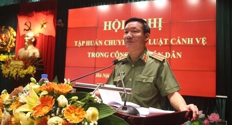 Nâng cao trình độ pháp luật về Cảnh vệ trong CAND