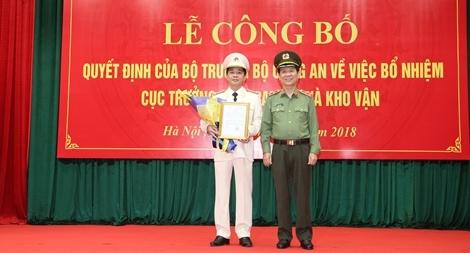 Đại tá Bùi Thiện Dũng giữ chức vụ Cục trưởng Cục Trang bị và kho vận