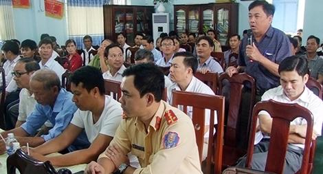 Công an Đắk Nông lắng nghe để phục vụ nhân dân tốt hơn
