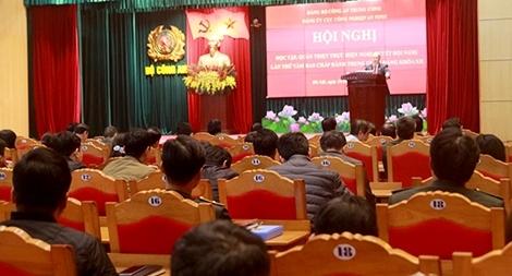 Đẩy mạnh học tập các nội dung Hội nghị TW 8, khóa XII