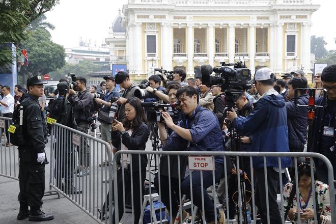 Hơn 3.000 phóng viên quốc tế đến Hà Nội để đưa tin về Hội nghị Thượng đỉnh Mỹ - Triều Tiên lần thứ hai.