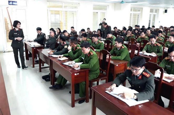 Học viện Chính trị CAND được giao đào tạo thạc sĩ ngành Xây dựng Đảng và chính quyền Nhà nước