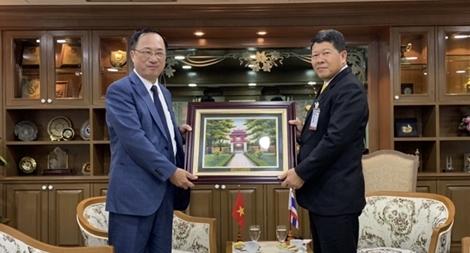 Thứ trưởng Nguyễn Văn Thành làm việc với các cơ quan đối tác Thái Lan