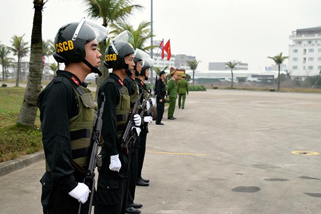 CSCĐ Công an tỉnh Quảng Ninh dũng cảm chiến đấu, lập nhiều chiến công