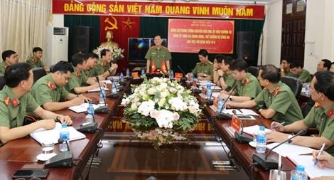 Thứ trưởng Nguyễn Văn Sơn làm việc với Bệnh viện 198 Bộ Công an