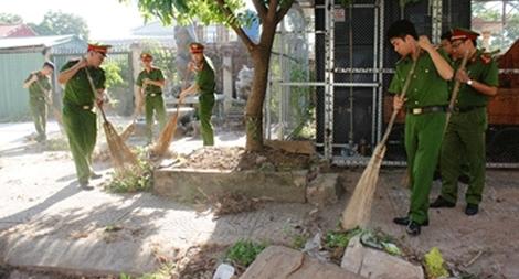 Công an Ninh Bình  tổ chức nhiều hoạt động ý nghĩa vì cộng đồng